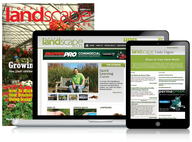 total landscape care website and magazine