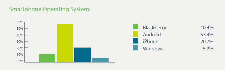 Which Mobile Platform is Most Popular with Company Drivers?
