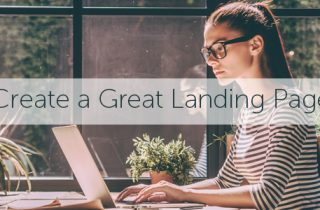 How to create a great landing page
