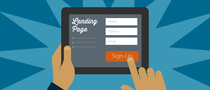 Landing Page Image. Get more leads.