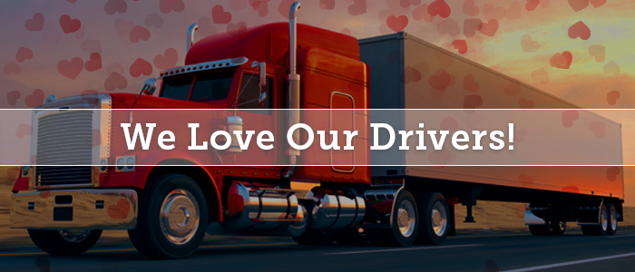Driver-Centric Image - We Love Our Drivers!