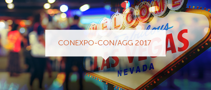 Make the Most of ConExpo-Con/Agg 2017