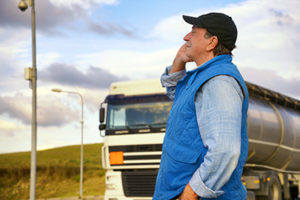 Truck Driver's Side of the Call