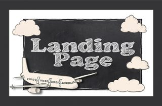 Chalkboard Landing Page Graphic