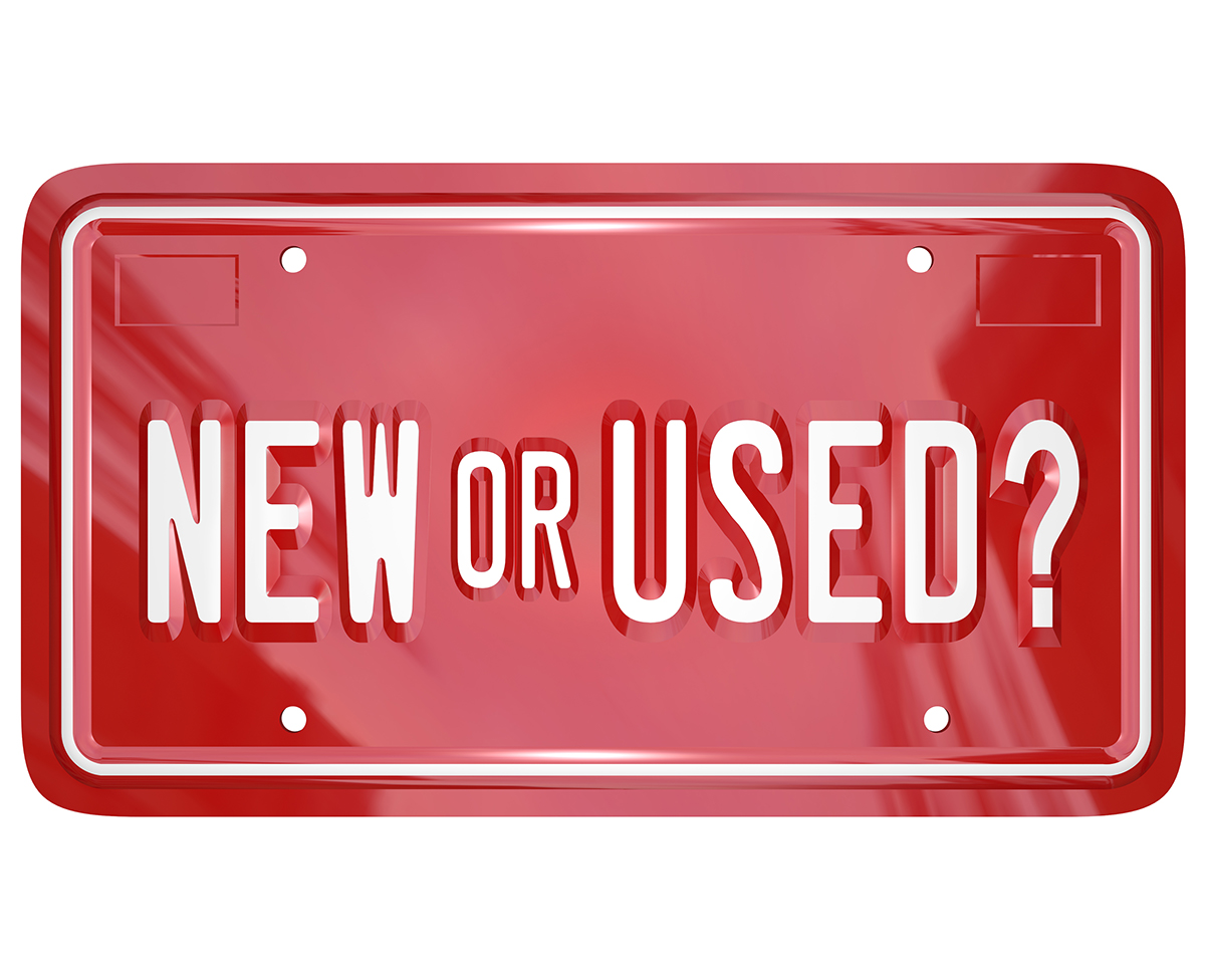 Difference Between New and Used Equipment Buyers