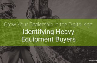 Identifying Heavy Equipment Buyers