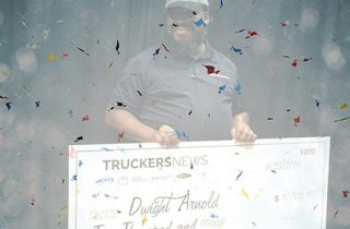 Winner of the 2019 Trucking's Top Rookie is....